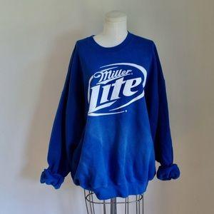Vintage Miller Lite Sweatshirt